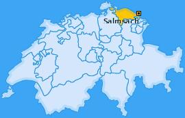Karte von Salmsach