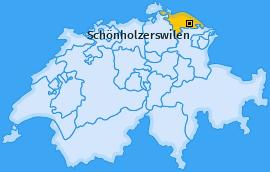 Karte von Schönholzerswilen