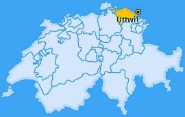 Karte von Uttwil