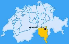 Karte von Acquarossa