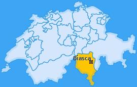 Karte von Biasca