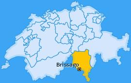 Karte von Brissago