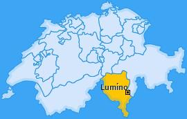 Karte von Lumino