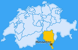Karte von Massagno