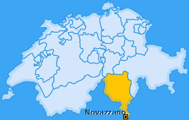 Karte von Novazzano