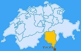 Karte von Vacallo