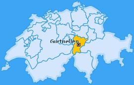 Karte von Gurtnellen