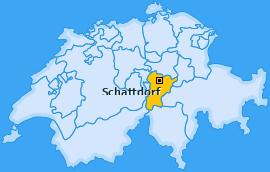 Karte von Schattdorf