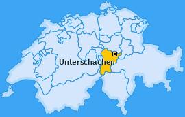 Karte von Unterschächen