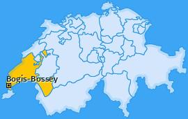 Karte von Bogis-Bossey