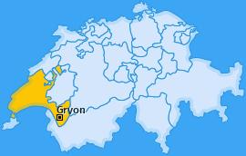 Karte von Gryon