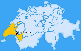 Karte Chaulin Montreux