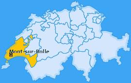 Karte von Mont-sur-Rolle