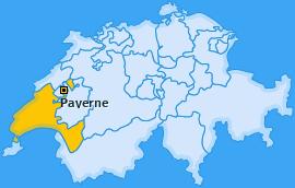 Karte von Payerne
