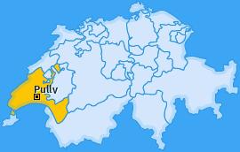 Karte von Pully