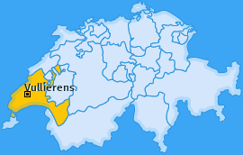 Karte von Vullierens