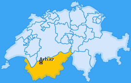 Karte von Arbaz