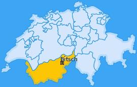 Karte von Bitsch