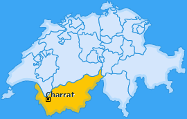Karte von Charrat