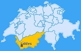 Karte von Liddes