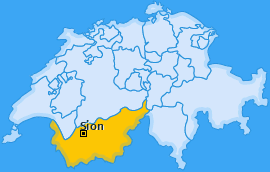 Karte Sion Sion
