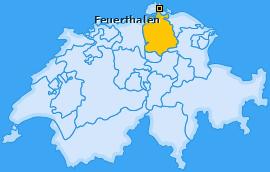 Karte von Feuerthalen