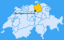 Karte von Mettmenstetten