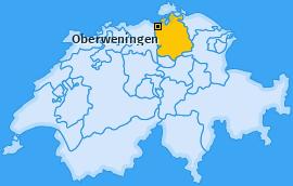 Karte von Oberweningen