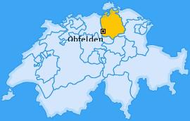 Karte von Obfelden