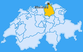 Karte von Rheinau