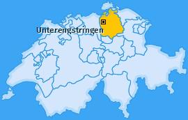 Karte von Unterengstringen