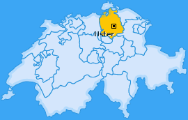 Karte Sulzbach Uster