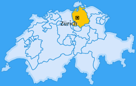 Karte Unterstrass Zürich