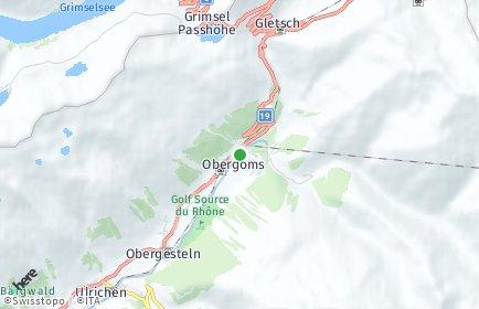 Stadtplan Obergoms