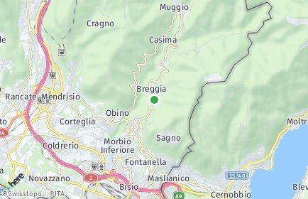 Stadtplan Breggia