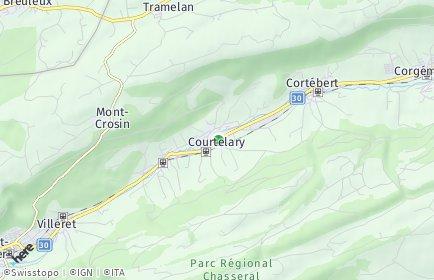 Stadtplan Berner Jura
