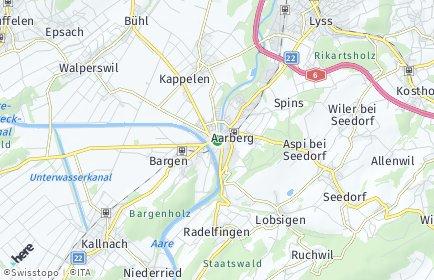 Stadtplan Seeland