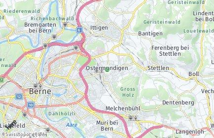 Stadtplan Bern-Mittelland