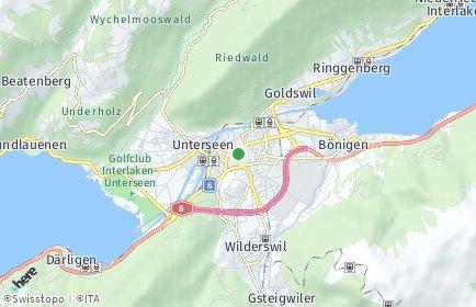 Stadtplan Interlaken-Oberhasli