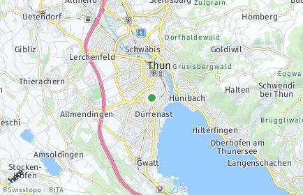 Stadtplan Thun