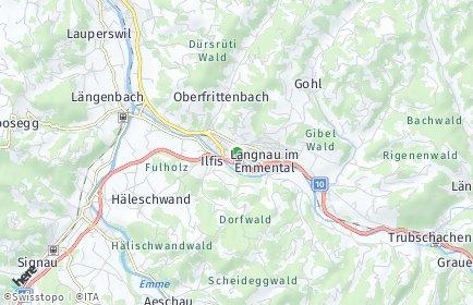 Stadtplan Emmental