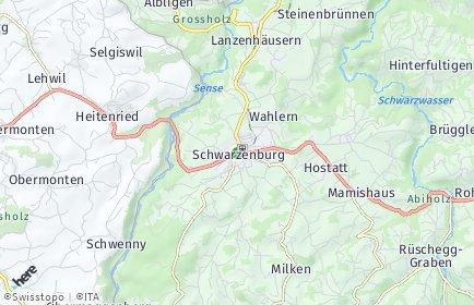 Stadtplan Schwarzenburg