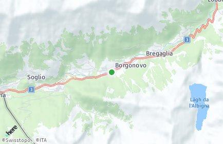 Stadtplan Bregaglia