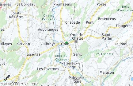 Stadtplan Oron