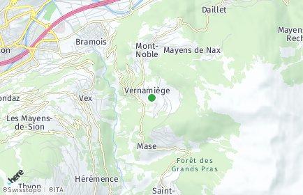 Stadtplan Mont-Noble