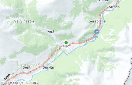Stadtplan Valsot