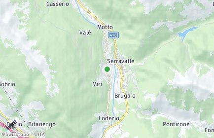 Stadtplan Serravalle