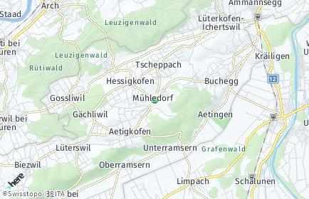 Stadtplan Buchegg