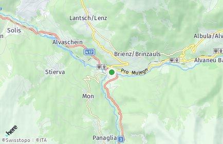 Stadtplan Albula/Alvra