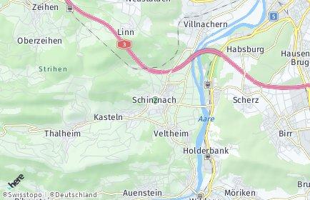 Stadtplan Schinznach